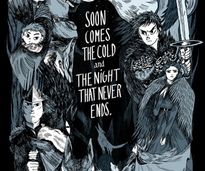 game of thrones, art, and quote image