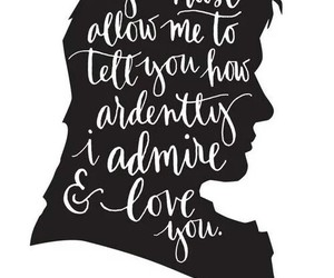 jane austen, quotes, and mr darcy image