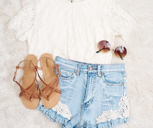 clothes, outfit, and shoes image