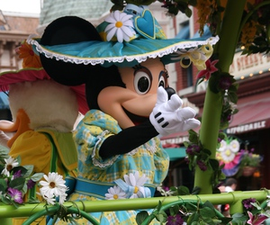 disneyland, minnie, and mouse image