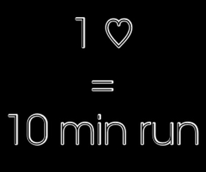 run, workout, and motivation image