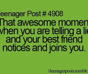 best friends, teenager post, and funny image