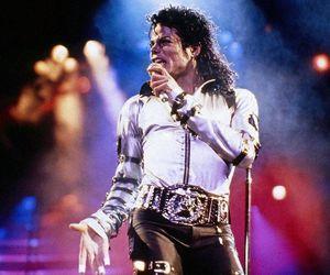 michael jackson, bad world tour, and rei do pop image