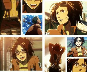 anime, hange, and hanji image