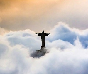 clouds and rio de janeiro image