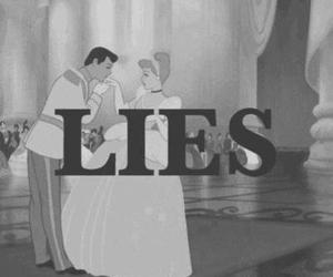 lies, cinderella, and disney image