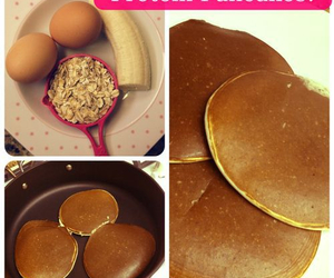 healthy, pancakes, and food image