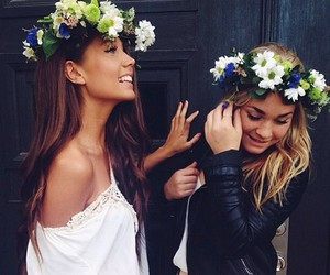 flower, flower crown, and cute image