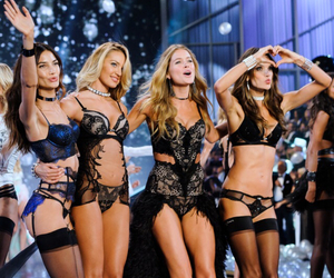 angels, Victoria's Secret, and wings image