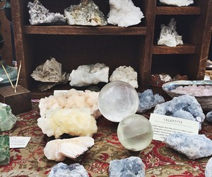crystal, energy, and gem image