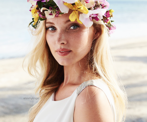 elsa hosk, Victoria's Secret, and flowers image