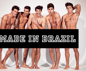 boys, brazil, and laugh image