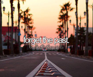 forget and past image