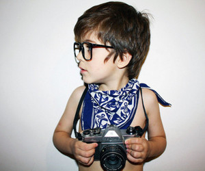 boy, cute, and camera image