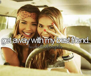 best friends, girl, and friendship image