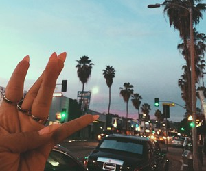nails, california, and summer image