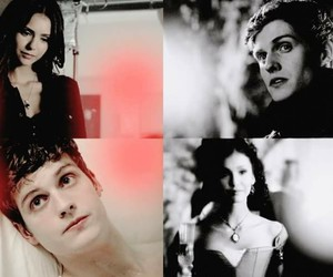 isaac, katherine, and the vampire diaries image