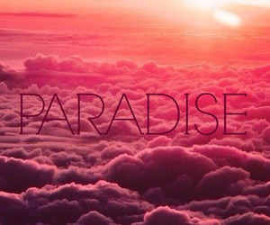 color, dreams, and paradise image