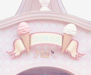 pink, ice cream, and disney image