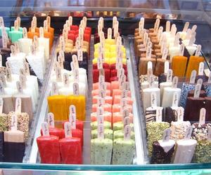 food, ice cream, and summer image
