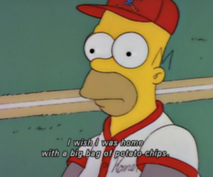 chip, junk, and the simpsons image