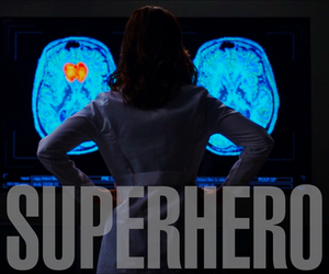 superhero, grey's anatomy, and amelia shepherd image