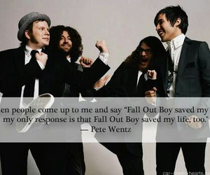 fall out boy, pete wentz, and FOB image