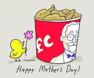 funny, KFC, and Chicken image