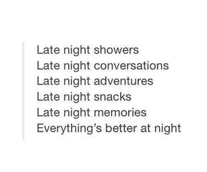 night, memories, and adventure image