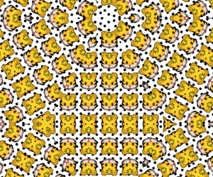 background, crazy, and dots image