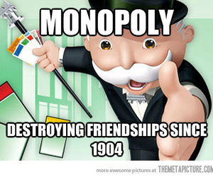 funny, true, and monopoly image