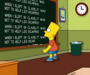 bart, simpsons, and inception image