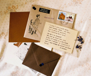 vintage, letters, and Letter image
