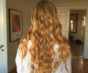 blonde, hairinspo, and curls image