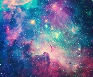 colorful, creativity, and galaxy image