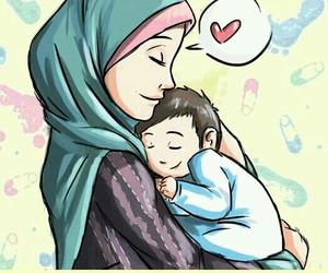 baby, islam, and boy image
