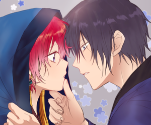 akatsuki no yona and yona and hak image