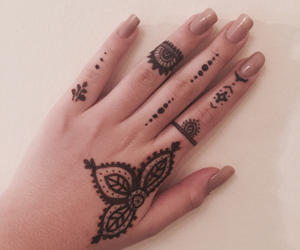 black, delicate, and doodle image