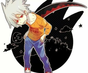 soul eater, anime boy, and soul eater evans image