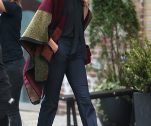 model, Karlie Kloss, and outfit image