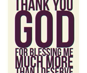 god, blessing, and quote image