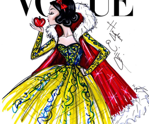 vogue, snow white, and disney image