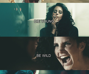 lana del rey, ride, and wild image