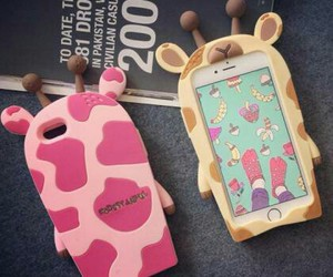 adorable, iphone, and silicone image