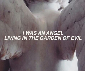 angel, bold, and evil image