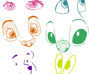 disney, cute, and drawing image