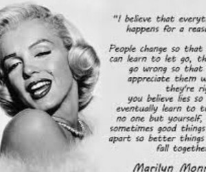 Marilyn Monroe, quotes, and marilyn image