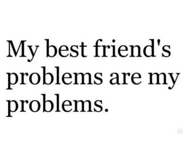 best friends, problems, and friendships image