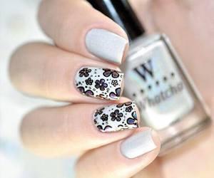 heart, nail art, and nail polish image