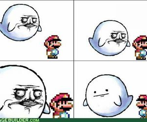 mario, funny, and lol image